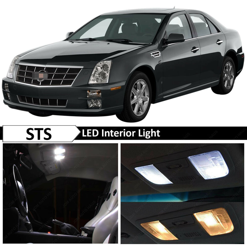 Cadillac Stsv: 16x White Interior LED Lights Package Kit For 2006-2011 Cadillac STS