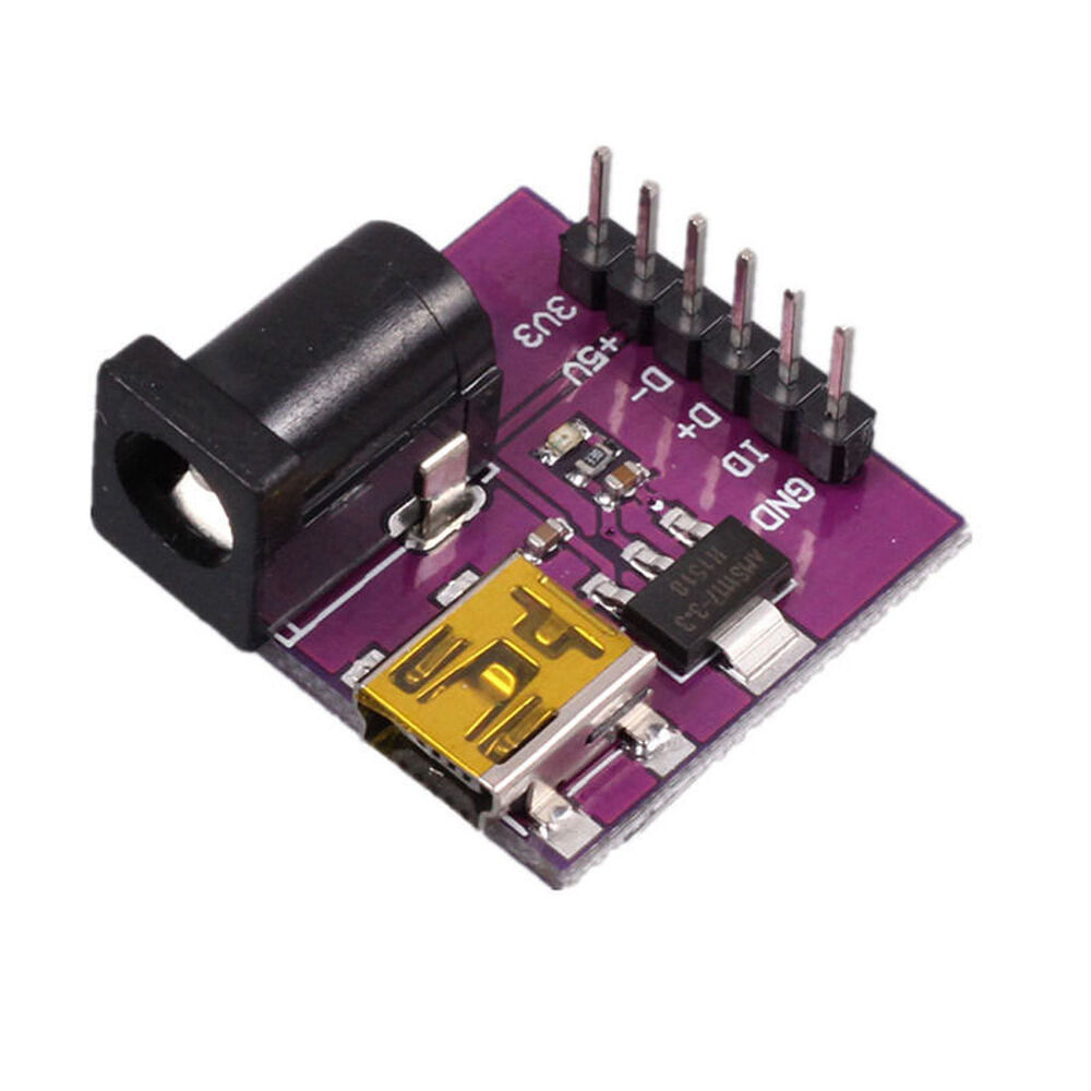 Ams v power supply module mini usb dc jack