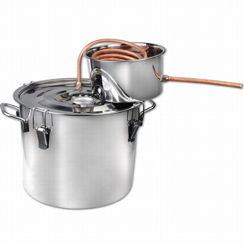 NEW 2 Gal Stainless Alcohol Moonshine Copper Still Spirits ...