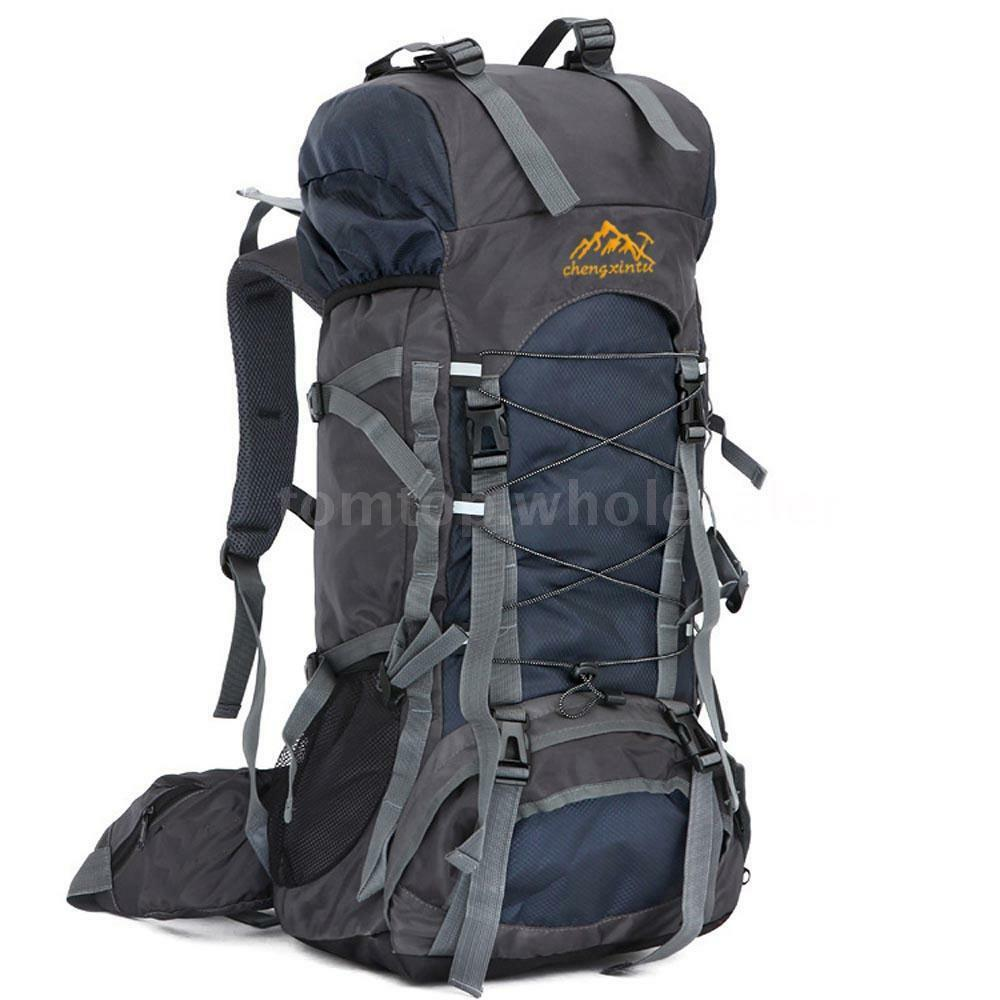 55L Outdoor Sport Backpack Trekking Bag Camping Pack ...