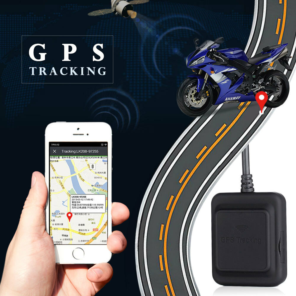 car motorcycle gps tracker anti theft positioning gsm gps. Black Bedroom Furniture Sets. Home Design Ideas