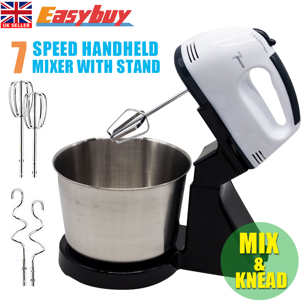 Hand Held Mixers With Attachments ~ New electric hand mixer balloon whisk beater food held