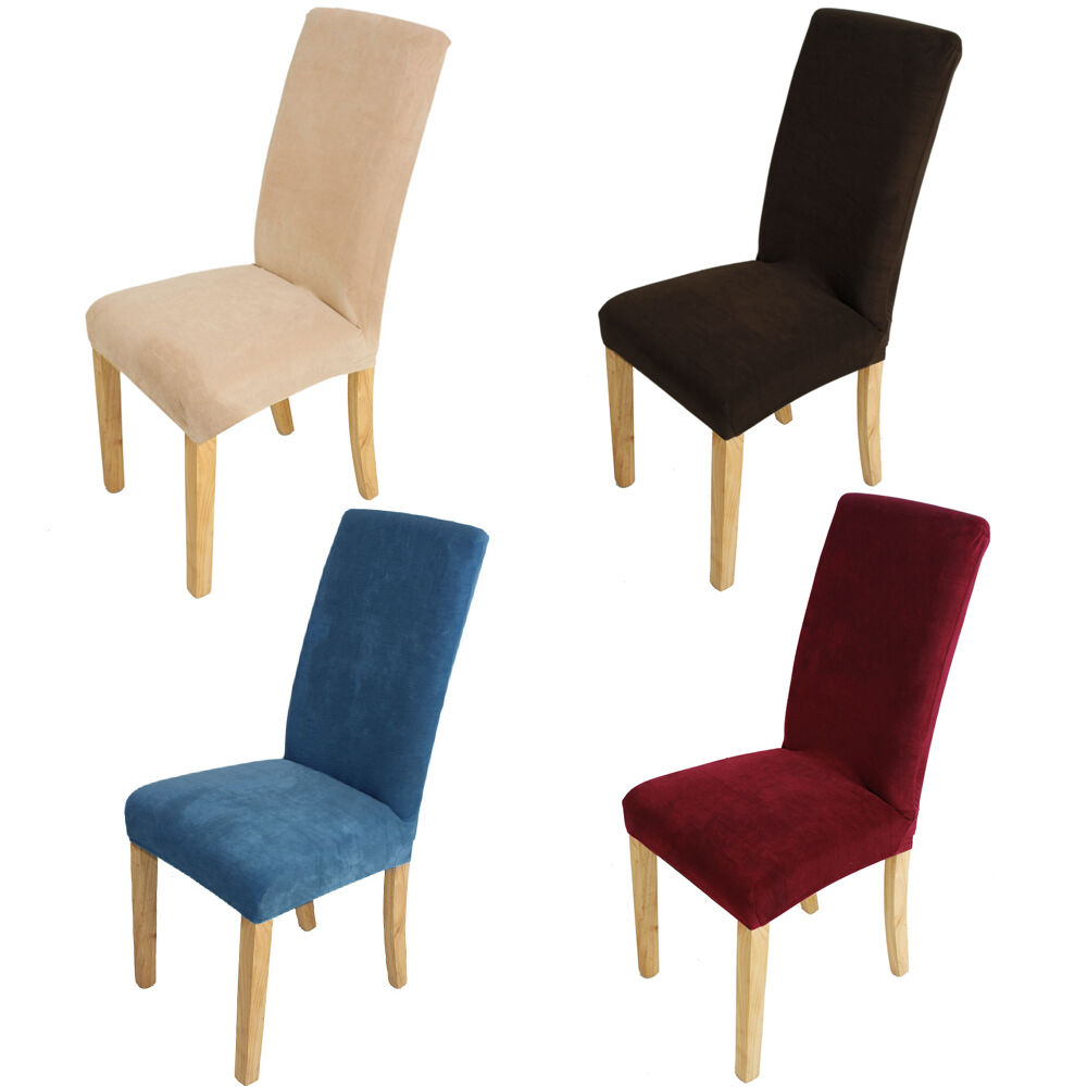 easy fit stretch chair cover slipcover short dining room
