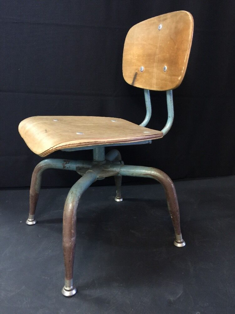 Ant Vintage Atomic Mid Century Chair Industrial Age Childs