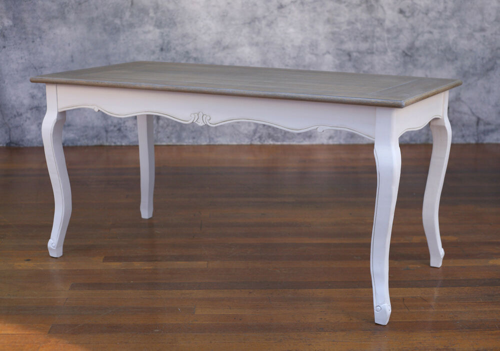 Dining Table French Provincial 160x80 Timber Top Antiqued  : s l1000 from www.ebay.com.au size 1000 x 702 jpeg 82kB