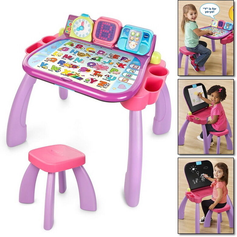 Preschool Table Toys : In learning touch learn art table desk toddler