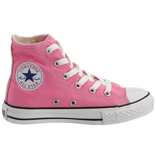 7e16a8b9e55b Details about CONVERSE All Star Chuck Taylor Hi Top Pink 3J234 KIDS Unisex  Canvas Sneakers