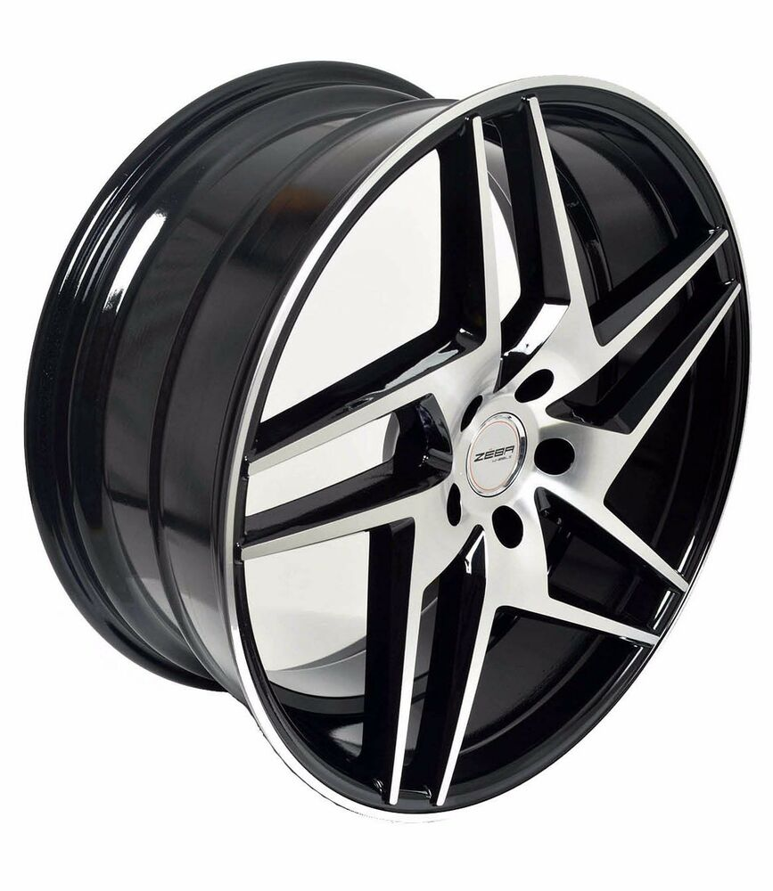 4 Gwg Wheels 20 Inch Black Razor Rims Fits 5x114 3 Hyundai