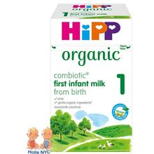 HiPP Organic Combiotic First Infant Milk Stage 1 UK Version 800g FREE SHIPPING