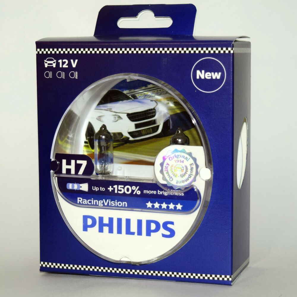 philips h7 racing vision ebay autos post. Black Bedroom Furniture Sets. Home Design Ideas