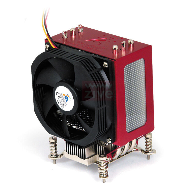 Processor Cooling Fan : Glacialtech igloo mc cpu cooler fan intel pentium