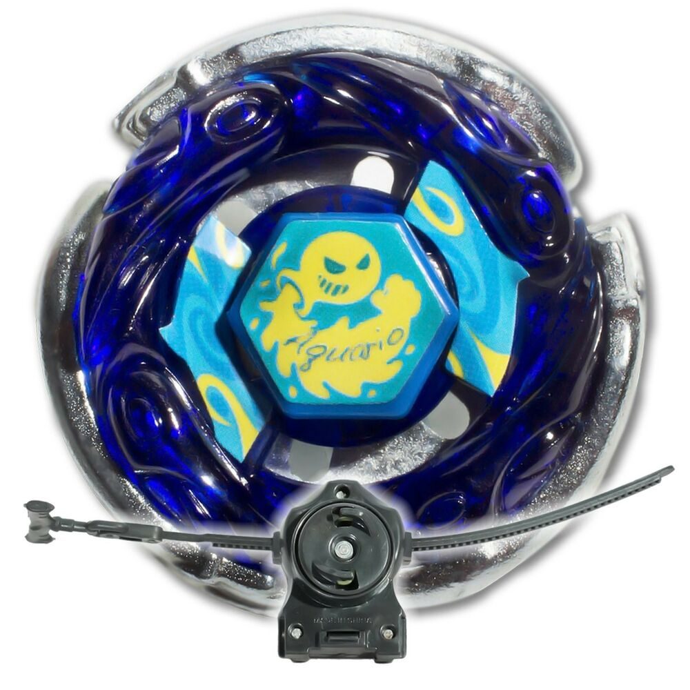 Beyblade Aquario with LL2 Launcher and Rip Cord Shipped ...