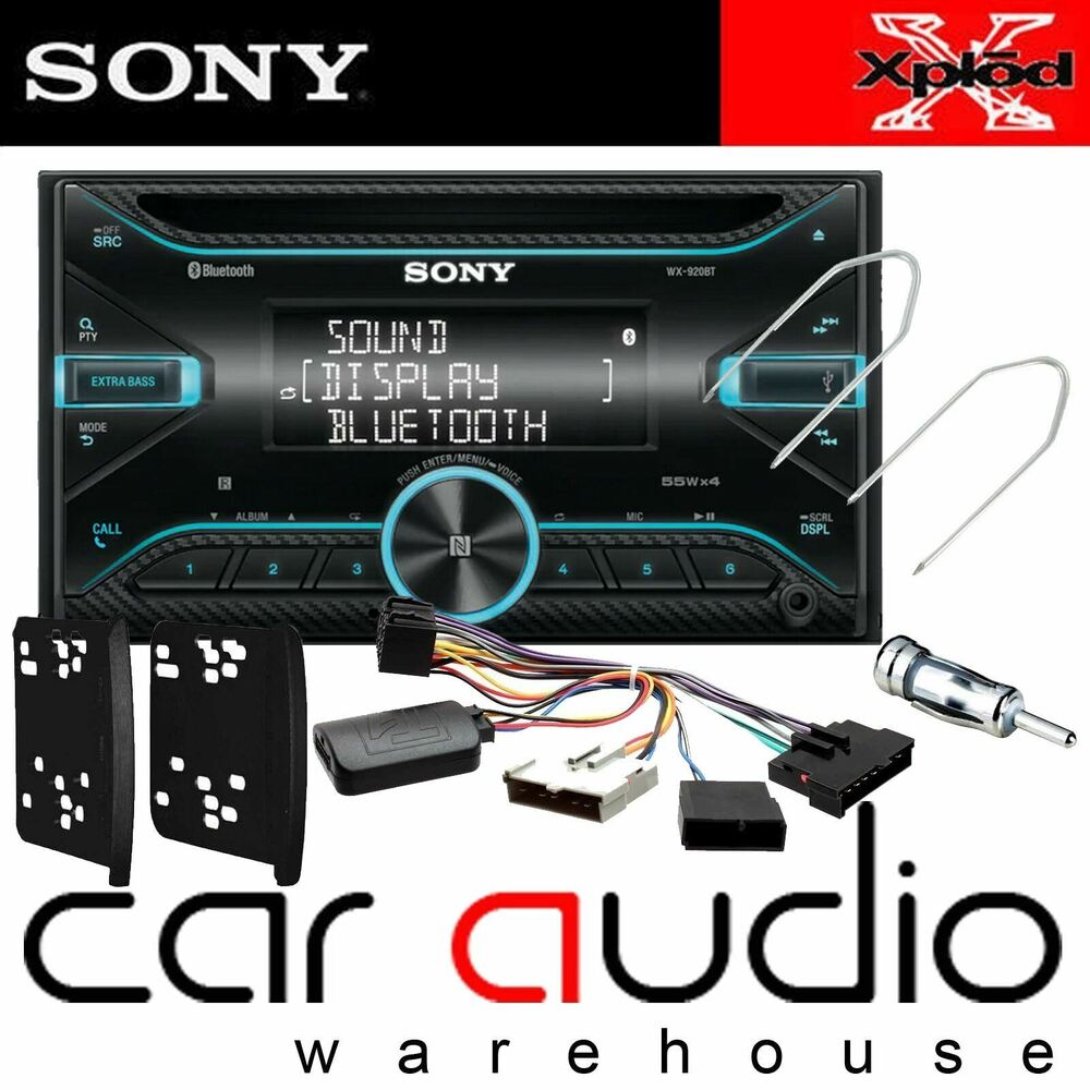 ford focus mk1 1999 05 sony double din bluetooth cd mp3. Black Bedroom Furniture Sets. Home Design Ideas