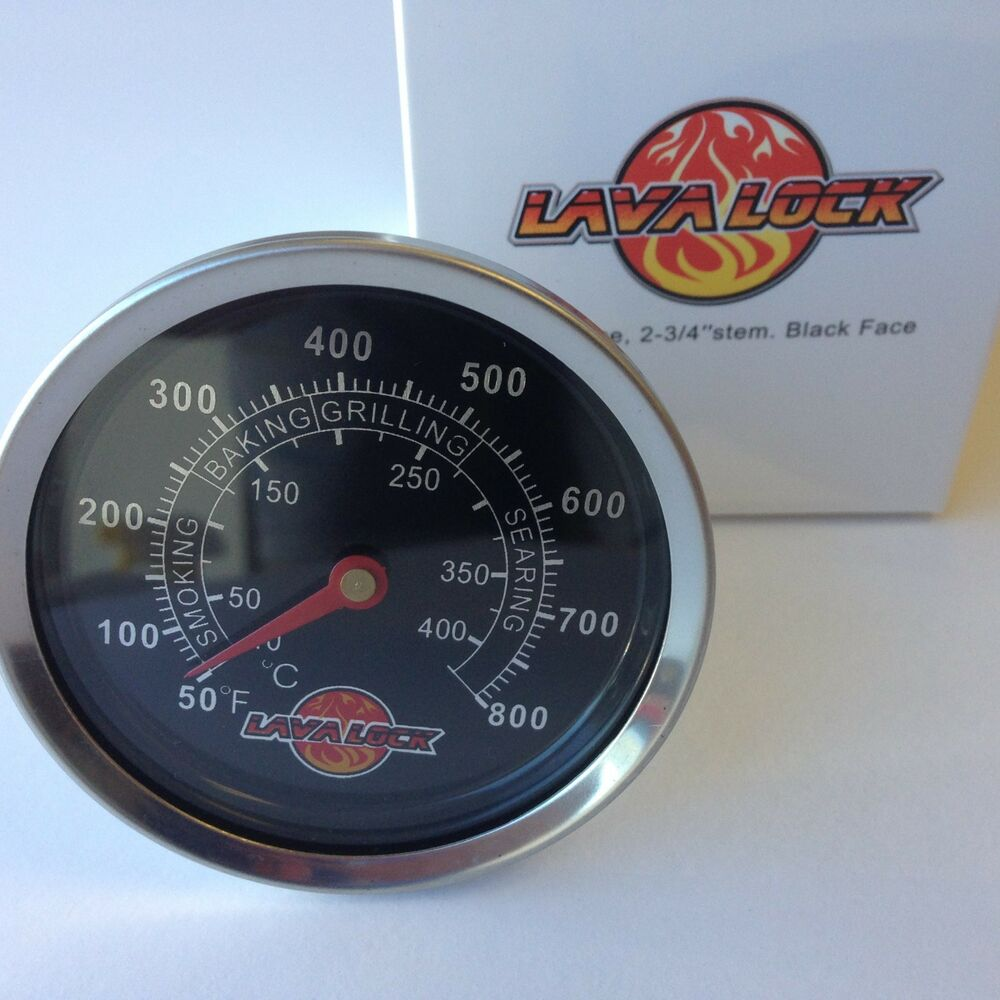 Lavalock 2 3 8 Quot Bbq Smoker Pit Thermometer Charcoal Grill