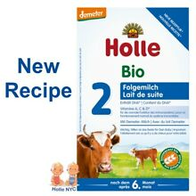 Holle Stage 2 Organic infant Formula 12/2019, 600g, FREE EXPEDITED SHIPPING