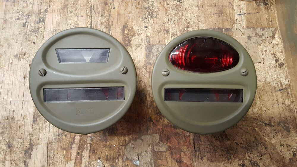 Yankee Willys Mb Gpw Harley Davidson Wla Army Tail Light