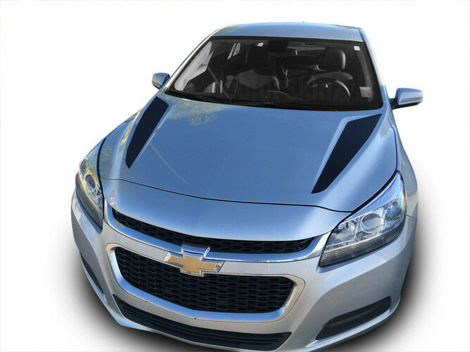 2013 Chevy Impala Ltz >> 2013 2014 2015 Chevy Malibu Hood Spears Cowl Stripes Decals Graphics | eBay