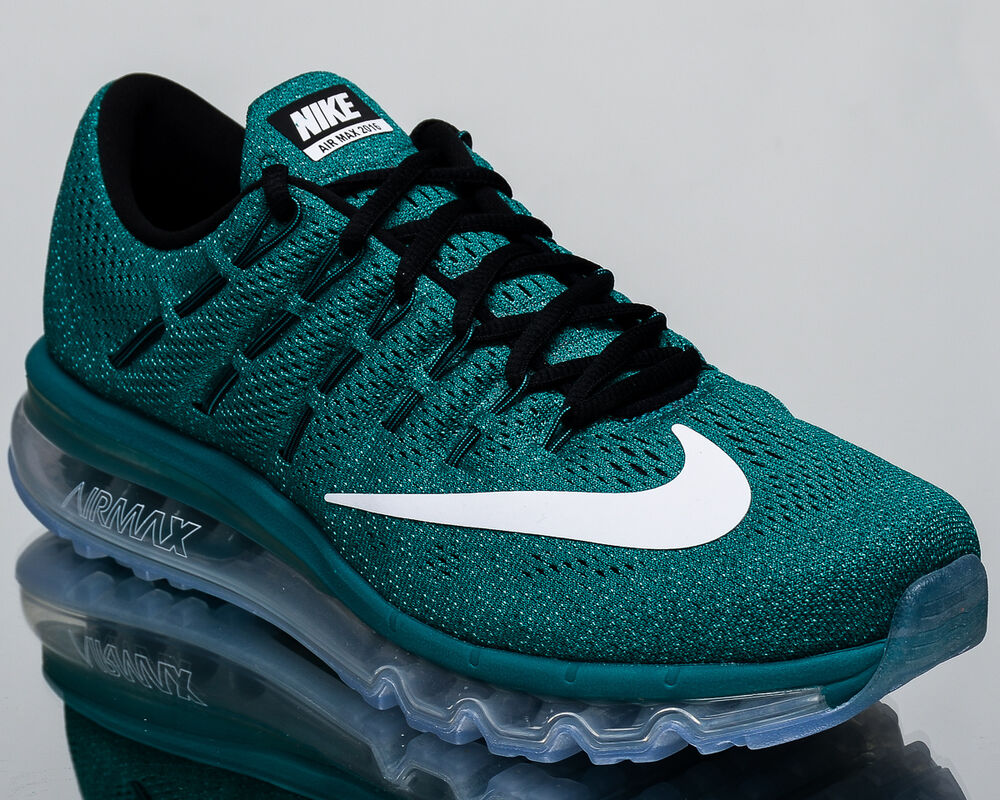 huge selection of 1ae1f 6c9ab Details about Nike Air Max 2016 men running run sneakers NEW rio teal white  806771-301