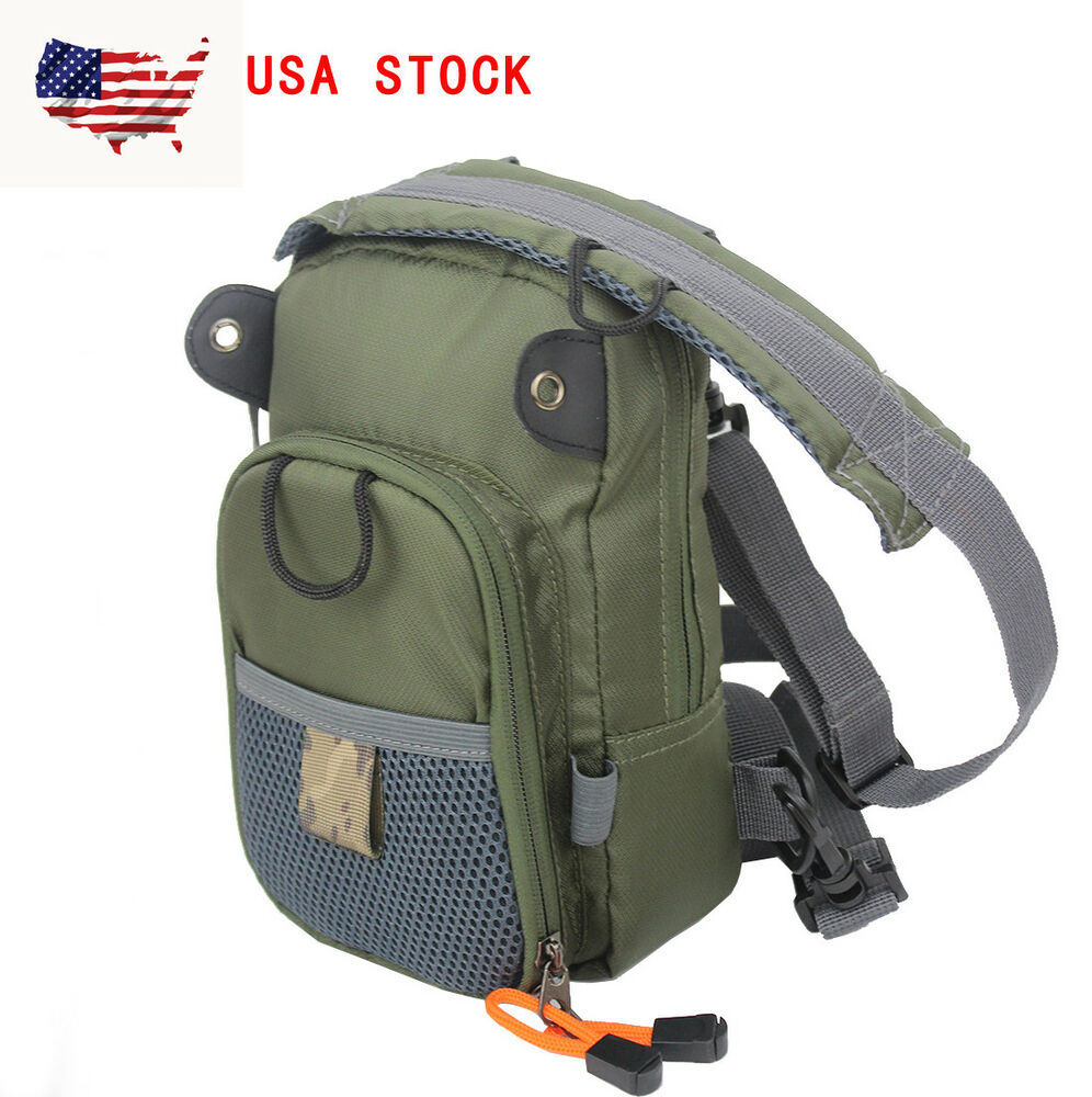 Fly fishing chest bag waist pack lightweight comfortable for Fishing chest pack