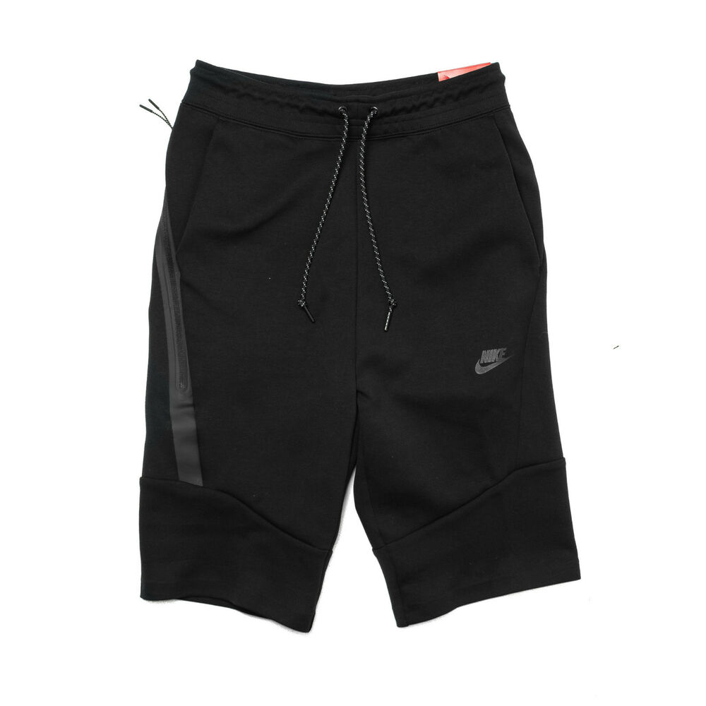 nike tech fleece shorts 2 0 black 727357 010 men sz s. Black Bedroom Furniture Sets. Home Design Ideas