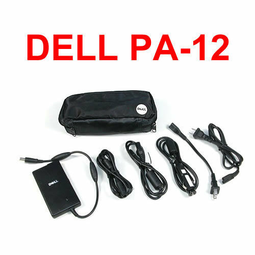 Details About New Genuine DELL Slim Car Auto Air 65W AC Adapter PA 12 Travel Kit Charger DK138