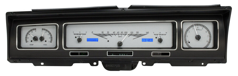 Digital Car Gauges Cluster : Chevy impala dakota digital vhx instruments gauge