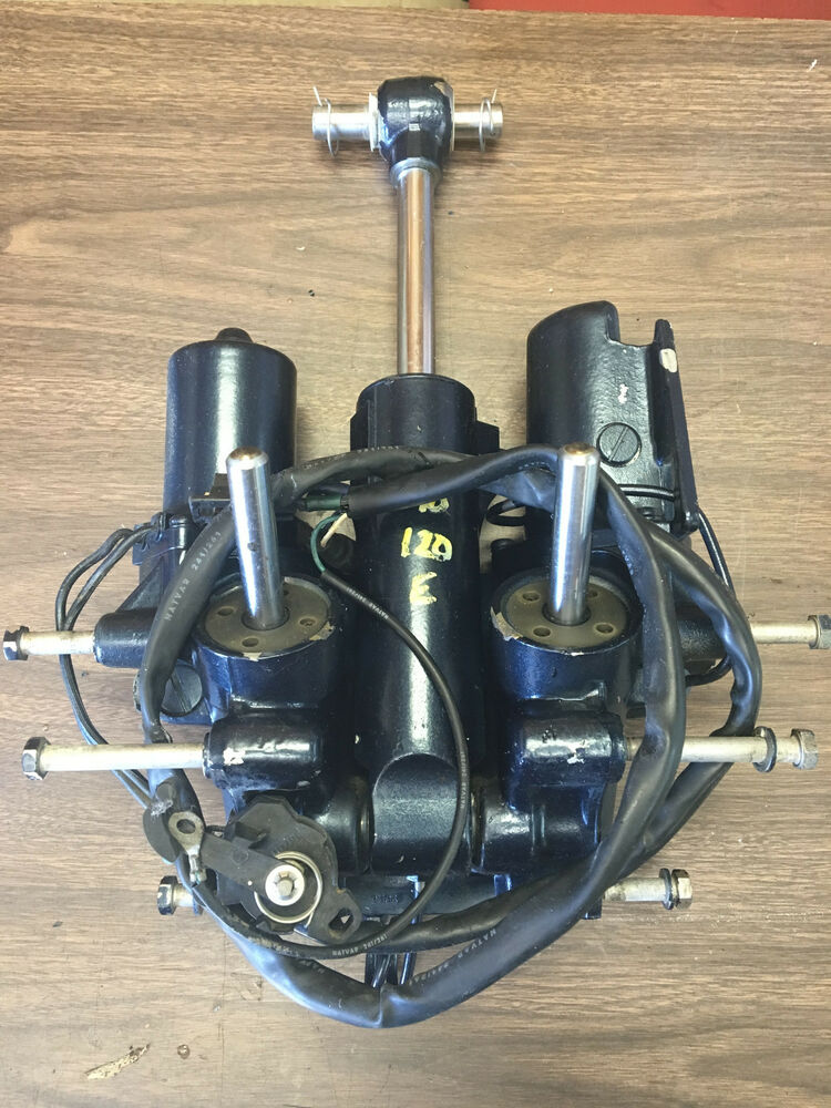 1990 evinrude 120 hp 2 stroke 2 wire outboard power tilt for Power trim motor for johnson outboard