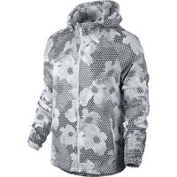 New Nike Printed Distance Women's Running Jacket Size Medium 588661-100