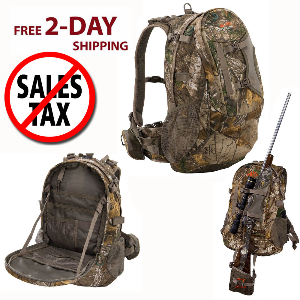 Hunting Backpack Bow Archery Rifle Hiking Camping Tactical Realtree ...