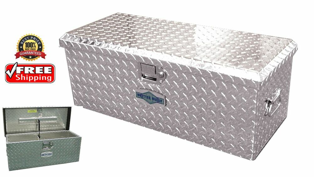 20 truck pickup underbody underbed aluminum tool box - Pickup bed storage boxes ...
