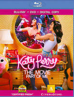 Katy Perry: Part of Me (Blu-ray/DVD, 2012, 2-Disc Set) *NEW* SHIPS FAST Mon-Sat!