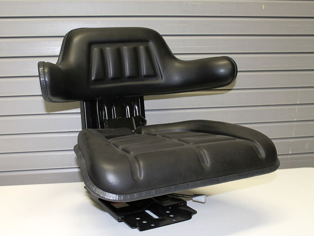 Universal Farm Tractor Seats : Tractor seat black waffle farm tractors universal fit