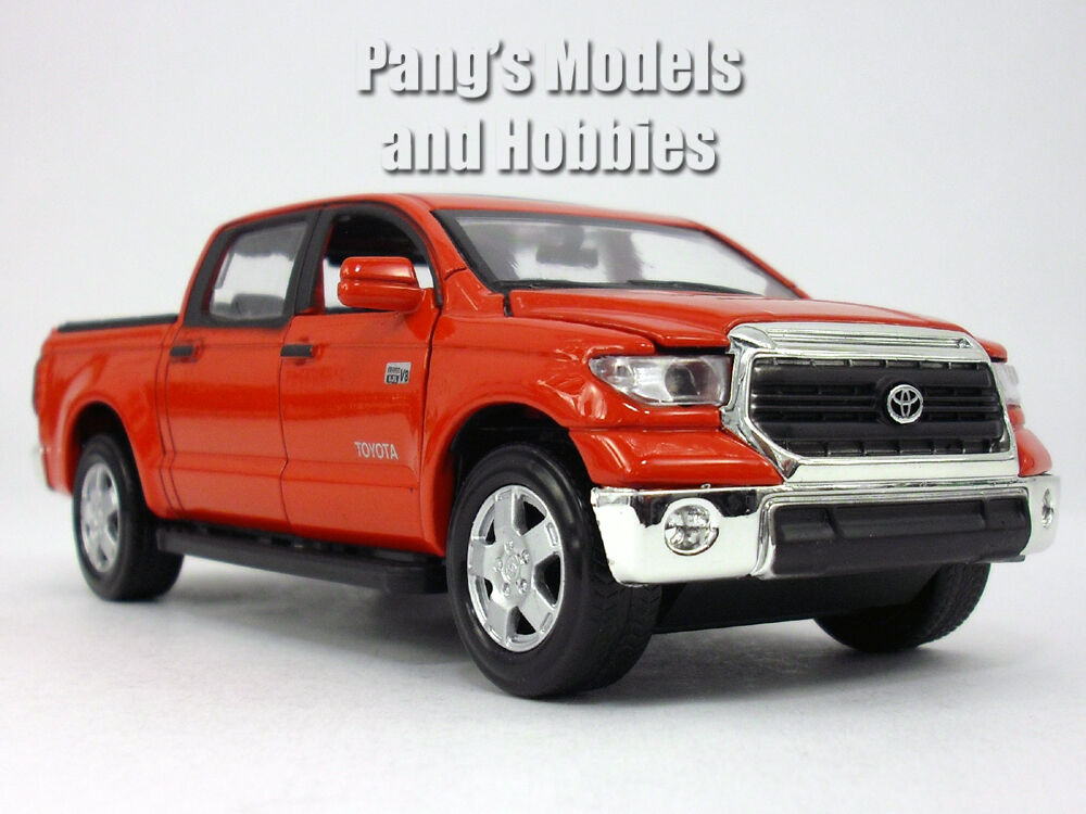 toyota tundra 1 36 scale diecast metal model by kingstoy red ebay. Black Bedroom Furniture Sets. Home Design Ideas