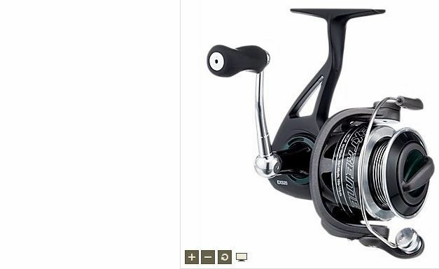 Bass pro shops extreme exs20 fishing spinning reel 5 1 1 for Bass pro fishing reels