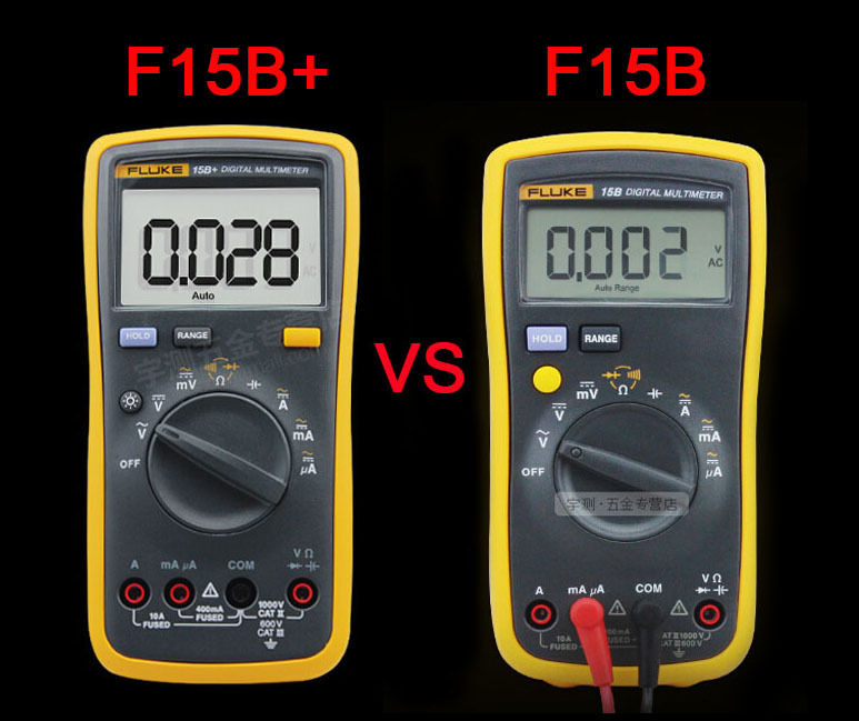Fluke Digital Voltmeter : New fluke b f digital multimeter meter led