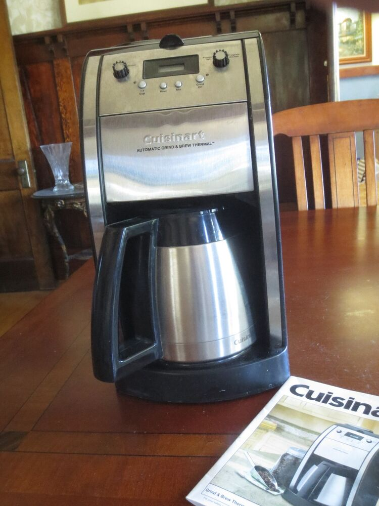 Cuisinart Coffee Maker Manual Dcc 2200 : Cuisinart Grind & Brew 10-Cup Automatic Coffee Coffeemaker DCC-590 Programmable eBay