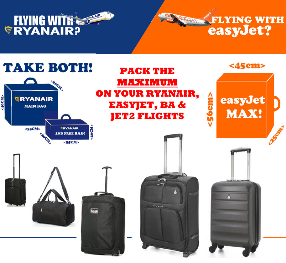 Easyjet baggage allowance for Cabin bag size