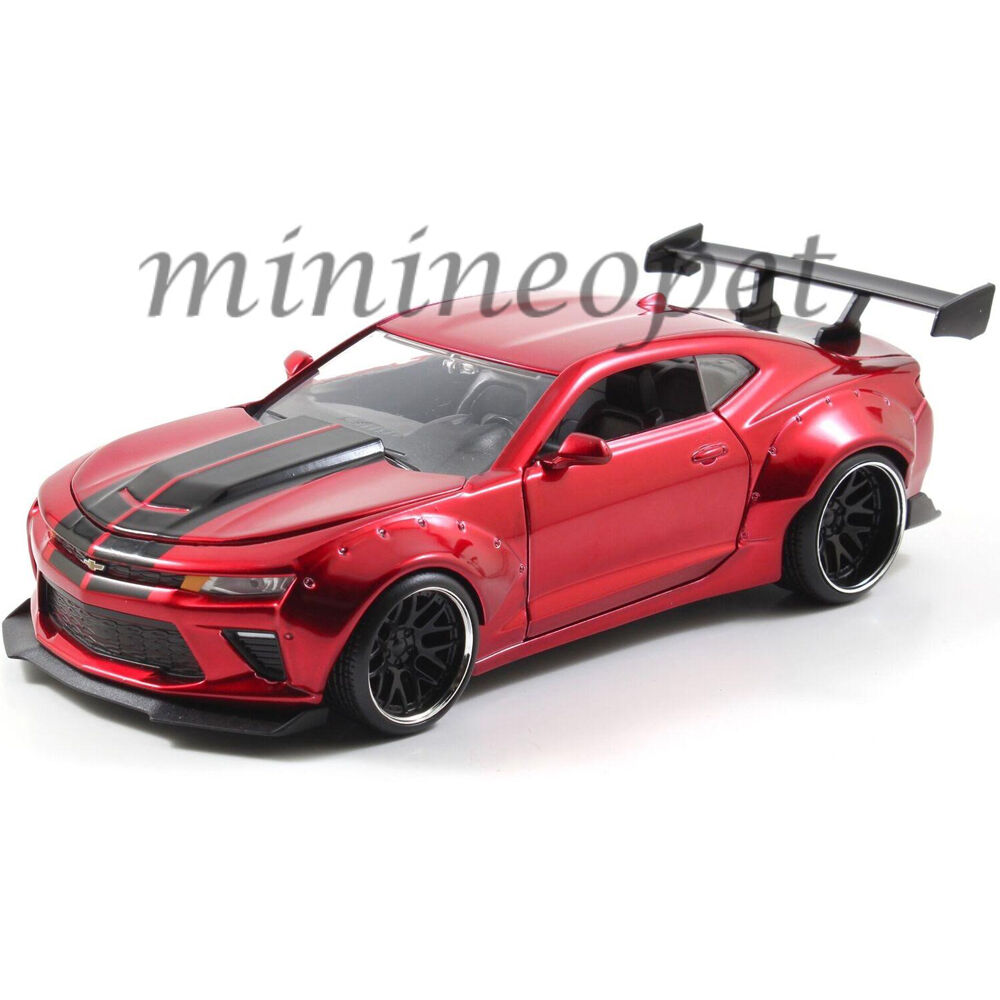 JADA 98136 BIGTIME 2016 CHEVY CAMARO WIDE BODY 1/24 with GT WING CANDY RED | eBay