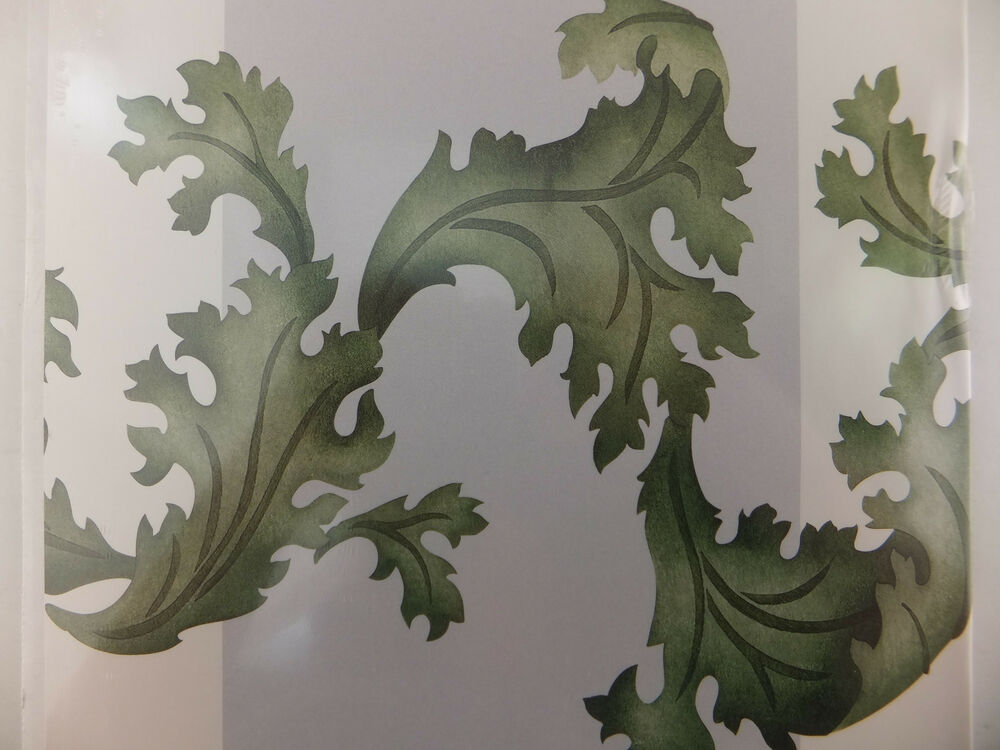 Acanthus leaves border stencil decor wall art ebay for Acanthus leaf decoration