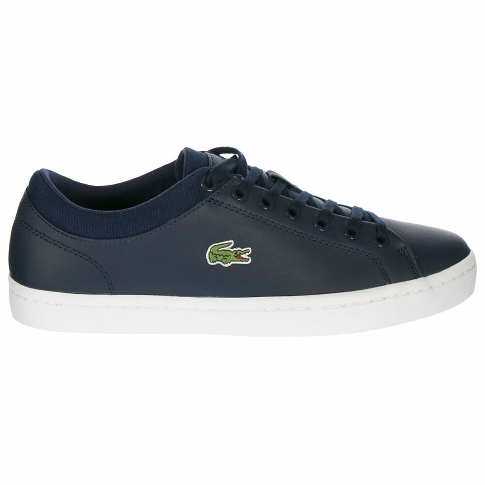 0db835ac9b7d7d Details about Lacoste Straightset SPT 1161 SPM Navy Mens Shoes