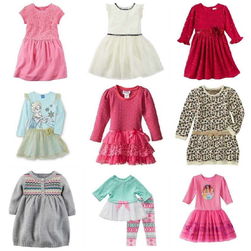 Nwt Infant Toddler Dresses Youngland Carters Disney