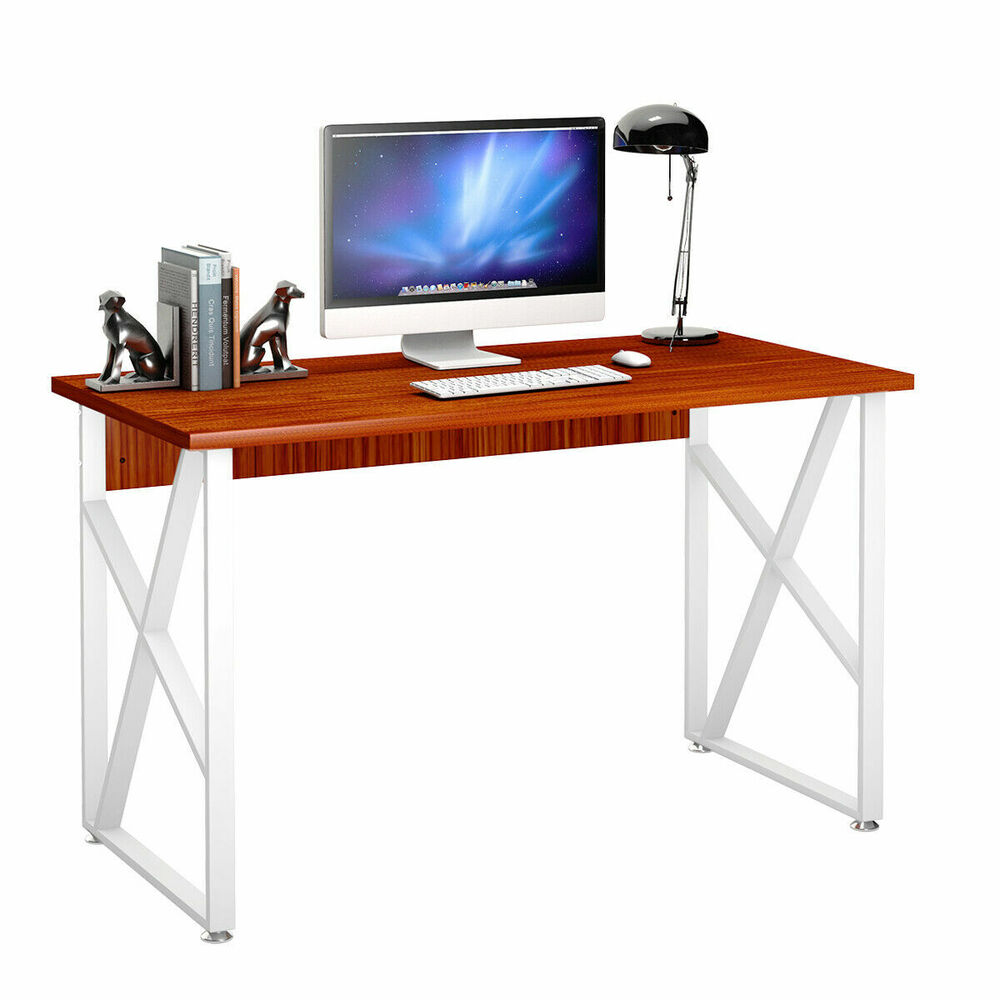 Computer Desk Pc Laptop Wood Table Home Office Study: Computer Desk Laptop PC Table Workstation Study Home