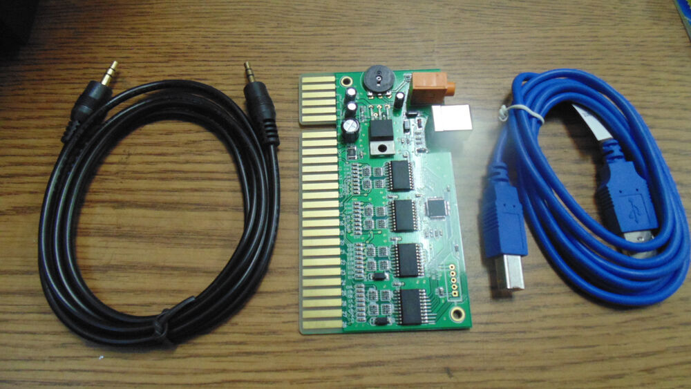 Arcade game controller usb interface pcb kit for pc