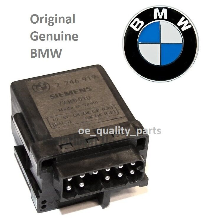 OE GENUINE BMW CONTROL UNIT GLOW PLUG RELAY 3 E46 320d