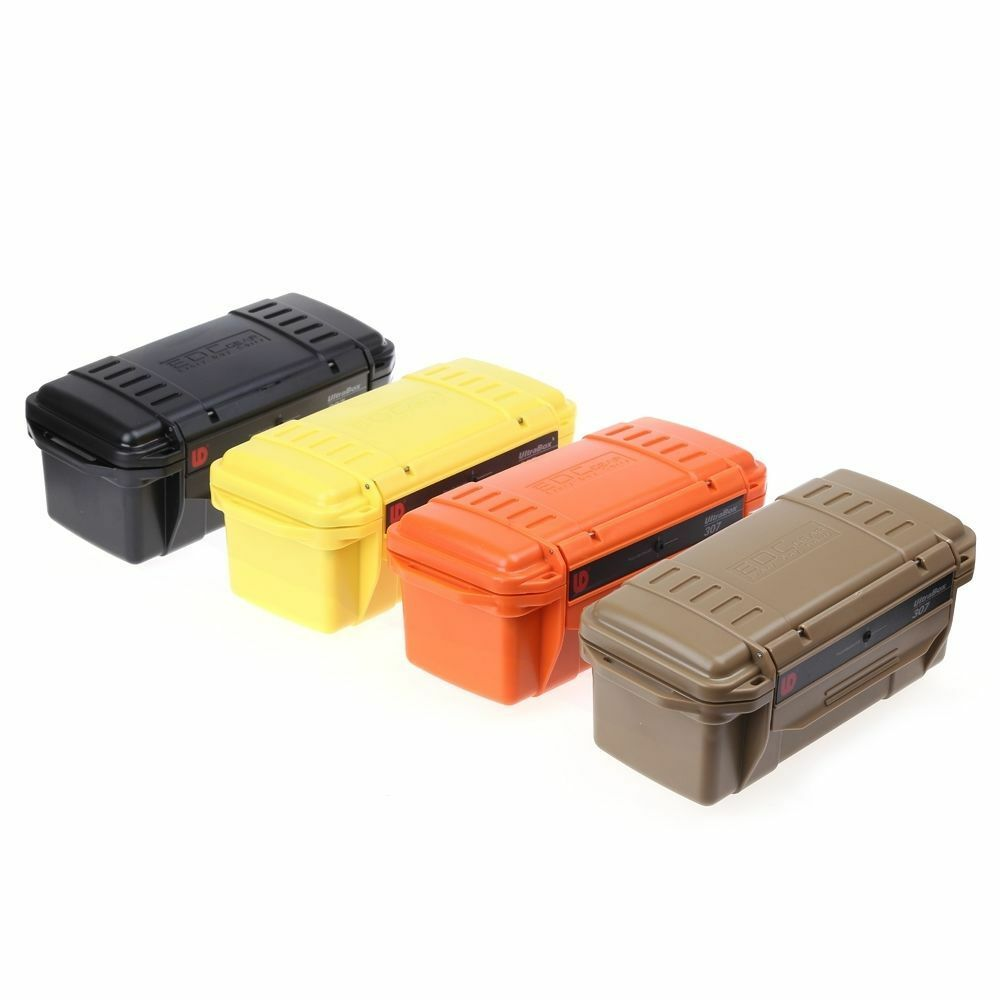 plastic storage box water resistant containers organiser tool box case aus ebay. Black Bedroom Furniture Sets. Home Design Ideas