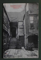 Old Postcard Strangers Hall Norwich Entrance Court 1910