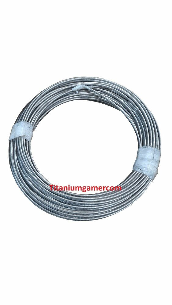t316 stainless steel cable 3 16 1x19 or 7x19 cable raiing commercail grade ebay. Black Bedroom Furniture Sets. Home Design Ideas