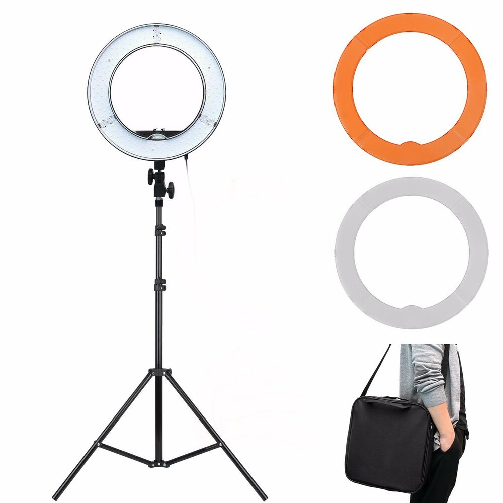 """Ring Light Stand Ebay: ES180 LED 13"""" 180pcs 36W 5500K Dimmable Ring Light"""