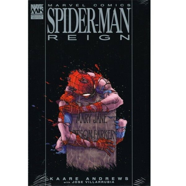 BD comics Marvel Spider-man: Reign ver.2