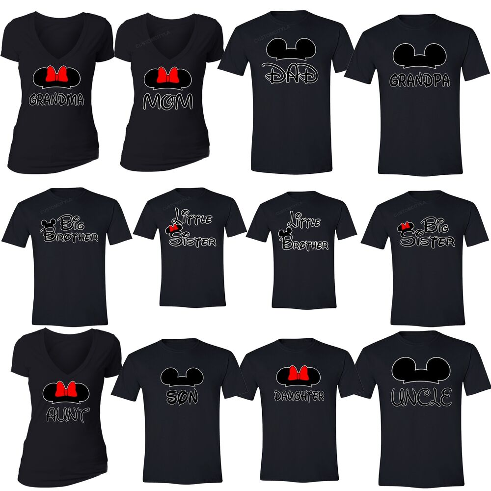 family vacation t shirts matching mom dad brother sister
